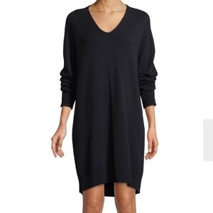 Vince V Neck Cashmere & Wool Sweater Dress, Sz XS